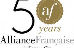 Alliance Fraincaise 50th anniversary logo